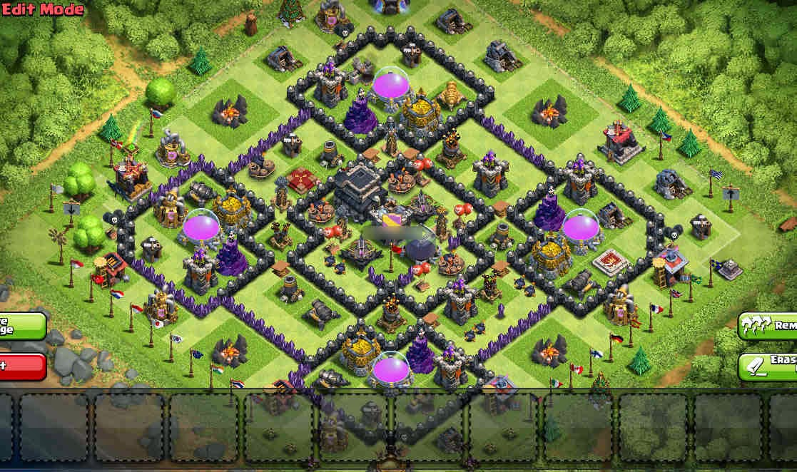 Best th9 farming bases in clash of clans compilation web junkies