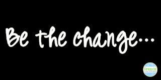 mondays motto be the change