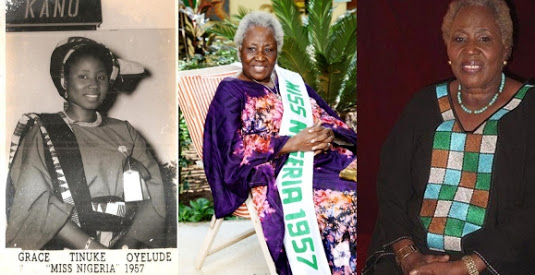 First Ever Miss Nigeria, Grace Oyelude, Still Looking Graceful At 86
