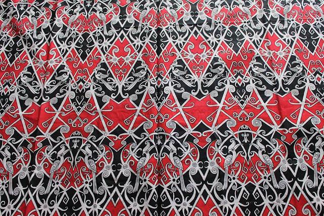 Motif Batik Kalimantan