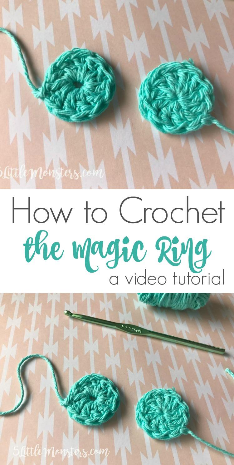 How to Make Adjustable Ring Crochet (Magic Ring) - Beginner ... | 1489x750