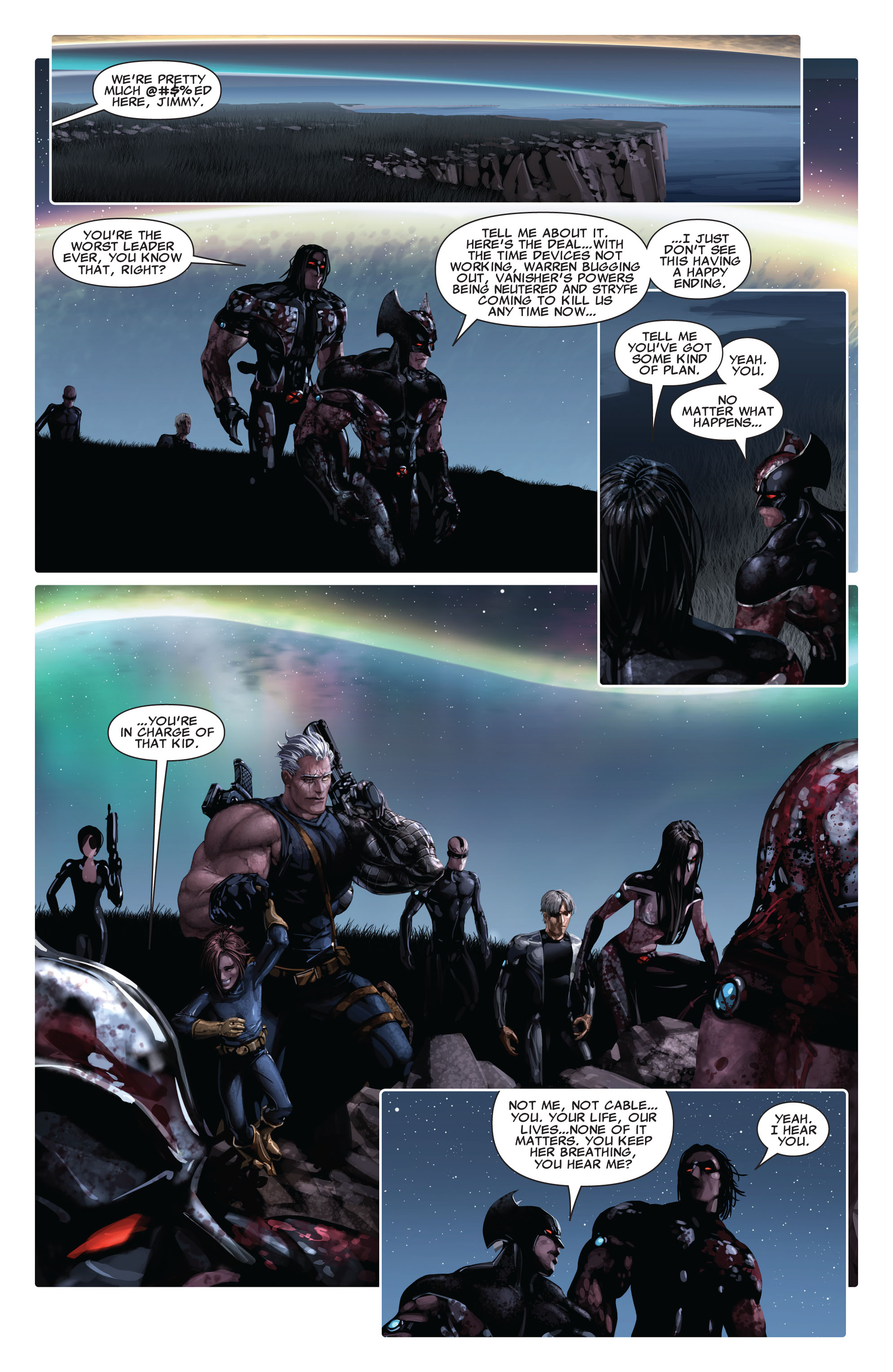 Read online X-Force (2008) comic -  Issue #14 - 15