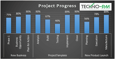 Project Progress Report MS Project