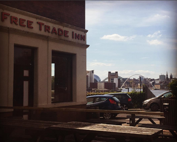 Beer Garden & Foodie Heaven in Ouseburn, Newcastle - The Free Trade Inn
