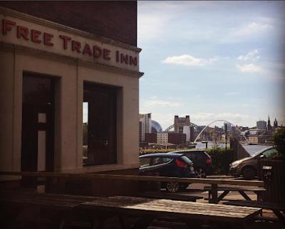 Beer Garden & Foodie Heaven in Ouseburn, Newcastle - The Free Trade Inn