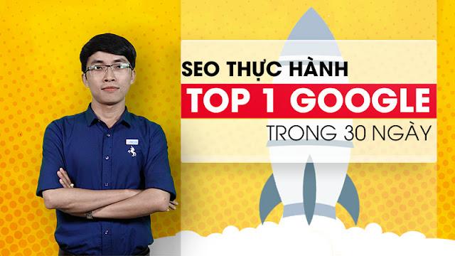 Khóa học Online Unica - Thực hành SEO website Top 1 Google trong 30 ngày