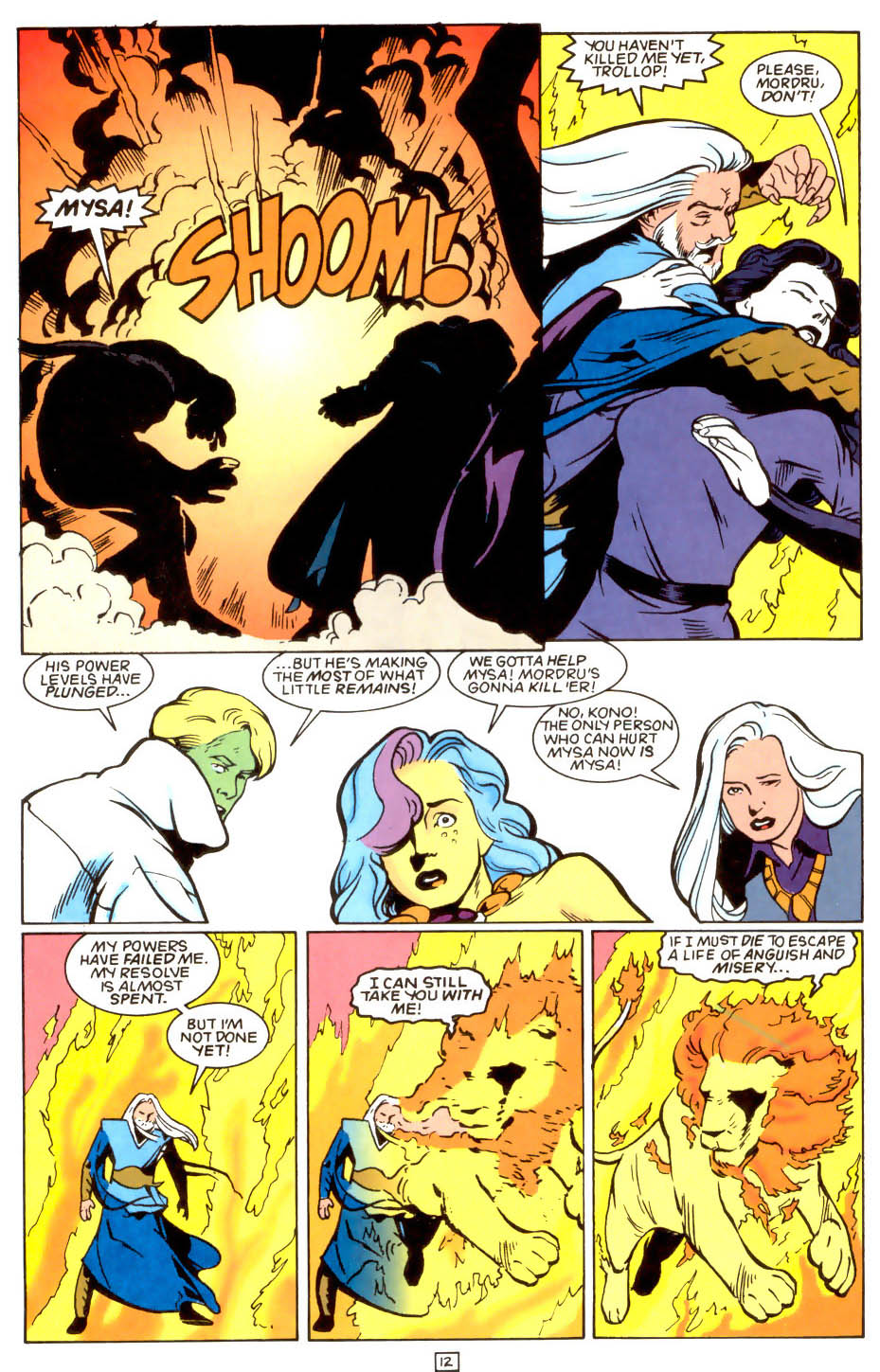 Legion of Super-Heroes (1989) 48 Page 12
