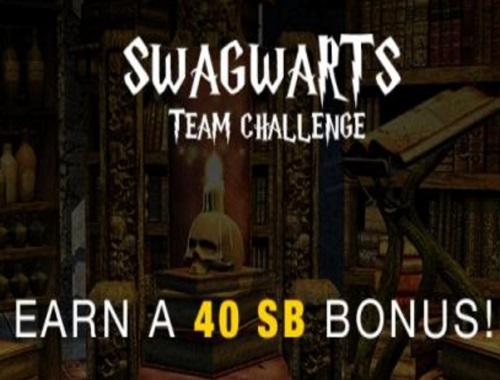 Swagbucks Team Challenge: Swagwarts