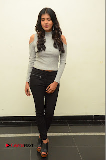 Actress Heba Patel Pictures in Black Jeans at Angel Movie Opening  0092.JPG
