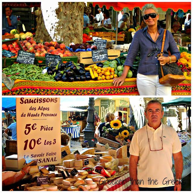 Market Aix -en-Provence