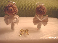 Pasta angel ornaments 2