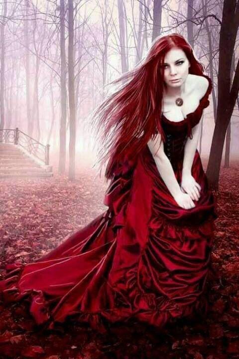 Leyenda de la mujer del vestido rojo