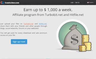 costaction, situs Paid Per Download Terbaik, upload file dibayar, cara menghasilkan uang dengan upload file