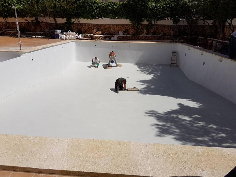 Reformas julio camarena revestimiento de piscina con - Revestimientos de piscinas ...