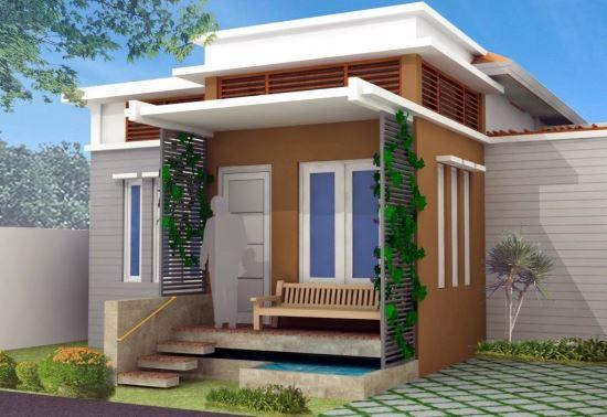 Contoh desain teras rumah minimalis modern