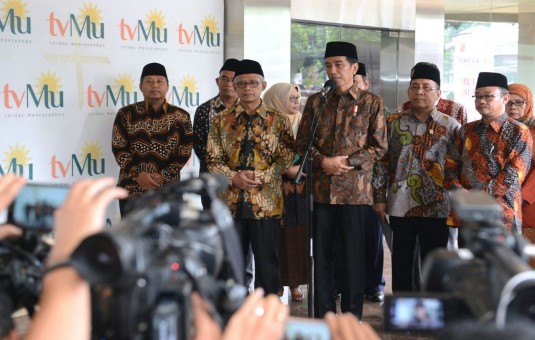 "Kagumi Gedung Muhammdiyah, Jokowi Bingung, ""DUITNYA DARI MANA?"""