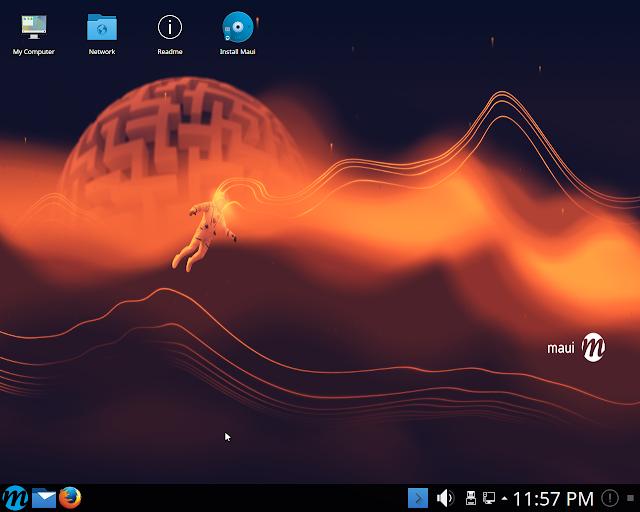 Lançado o GNU/Linux Maui Linux 1!