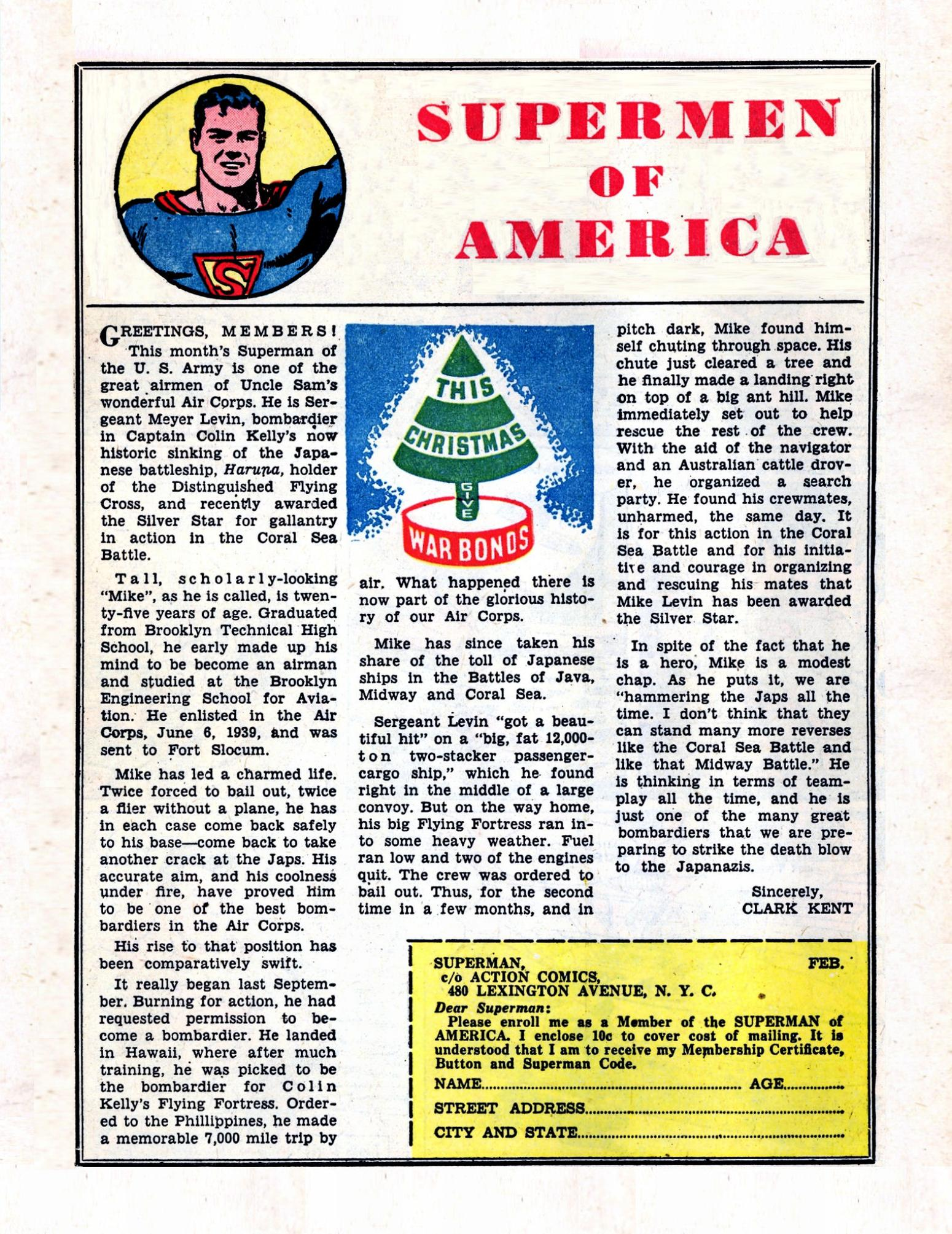 Read online Action Comics (1938) comic -  Issue #57 - 16