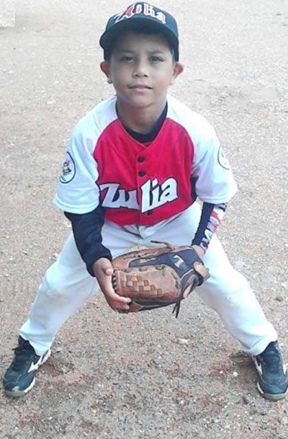 Perijanero Andrew Carmona líder en Triples en Nacional de Beisbol categoría Iniciación