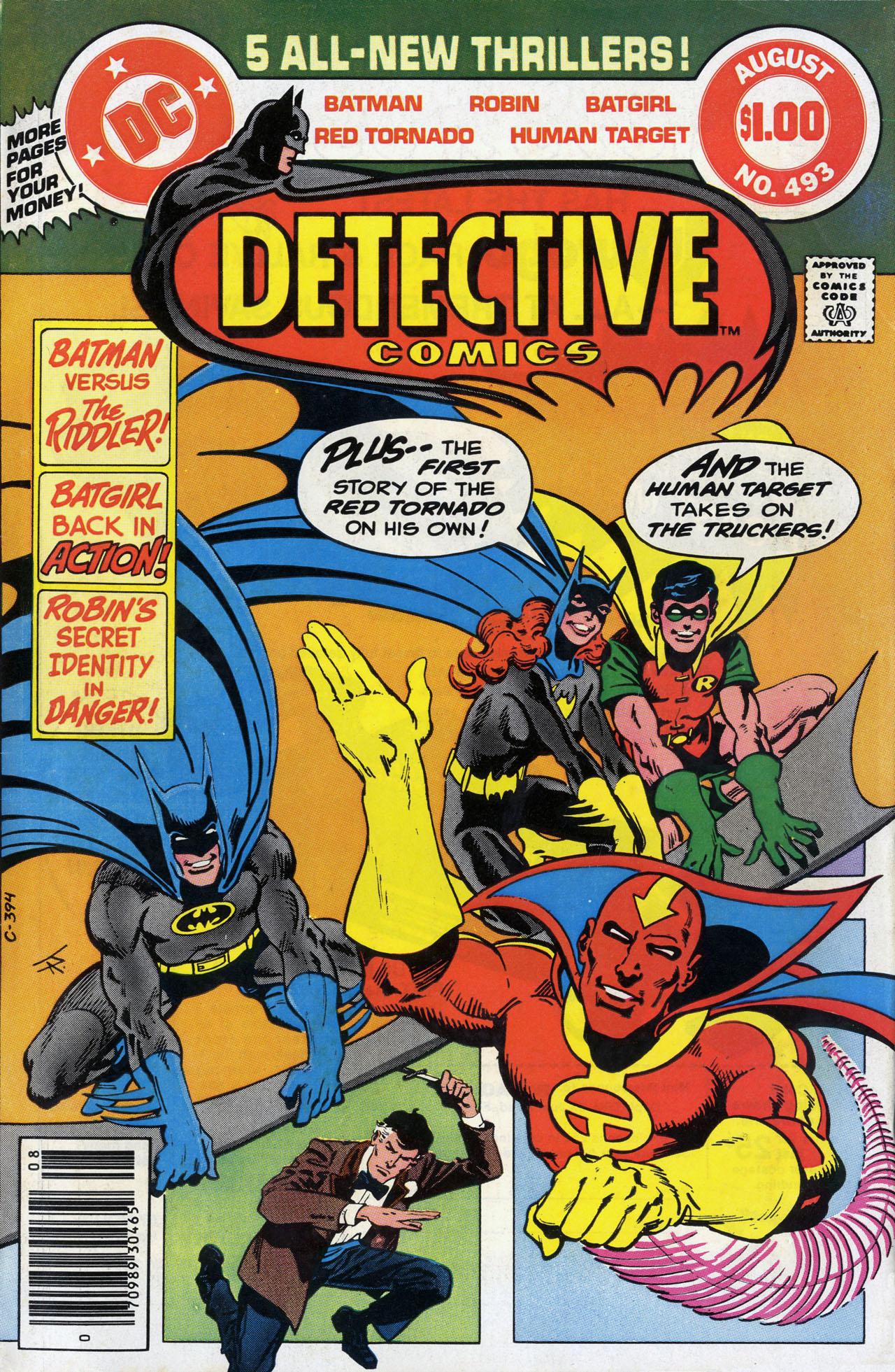 Detective Comics (1937) 493 Page 1