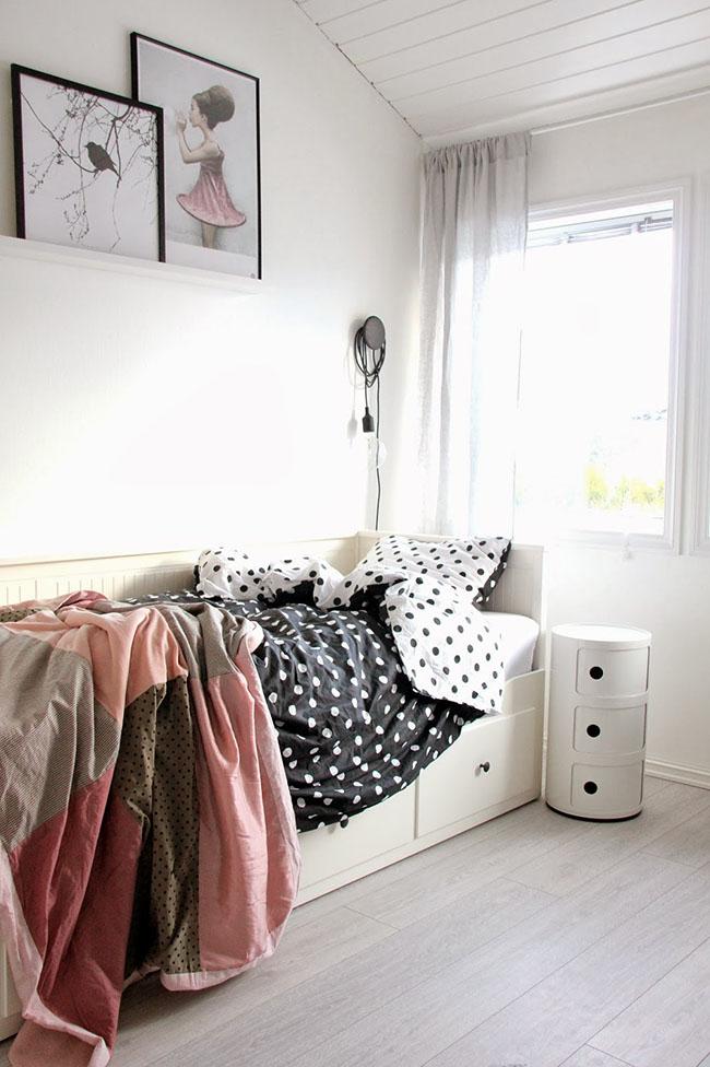 4 ideas para inspirarte si tienes el divan hemnes de ikea boho deco chic. Black Bedroom Furniture Sets. Home Design Ideas
