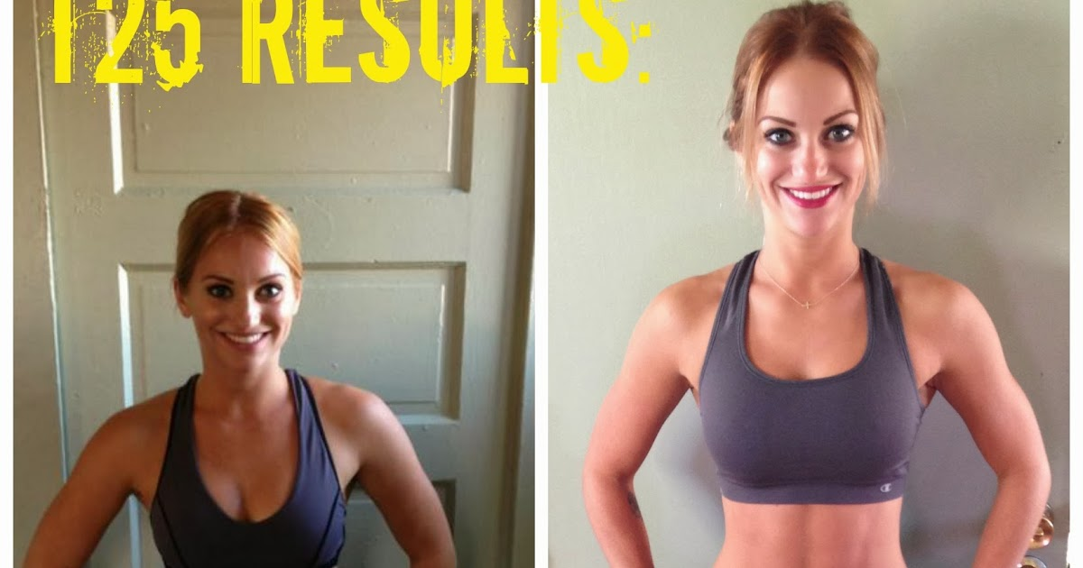 My Official T25 Results Womens T25 Results From Flab To Fab