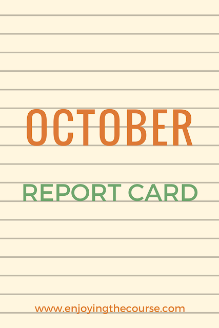 October Report Card