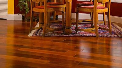 Màu sắc sàn gỗ giáng hương trong sự thiết kế