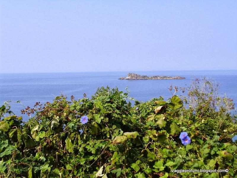 L'azzurro mare di Mathraki, isole Diapontie