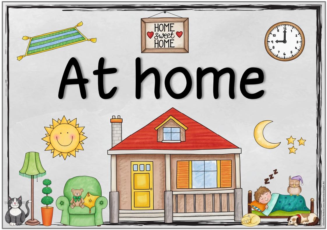 Ideenreise Blog At Home Themenplakat Und Zusatzmaterial