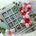 Poinsettia Shaker Window