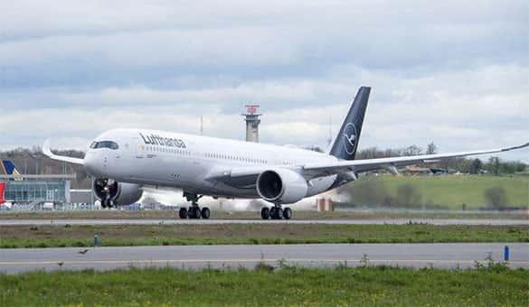 Pesawat terbang komersial terbesar saat ini A350-900