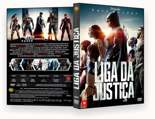 DVD-R Liga Da Justica 2018 – AUTORADO