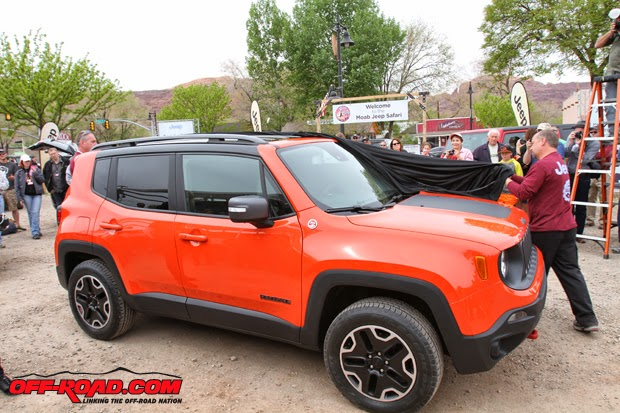 the happy car salesman 2014 moab easter jeep safari jeep renegade reveal. Black Bedroom Furniture Sets. Home Design Ideas