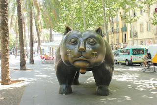 Gato_de_Botero_Barcelona