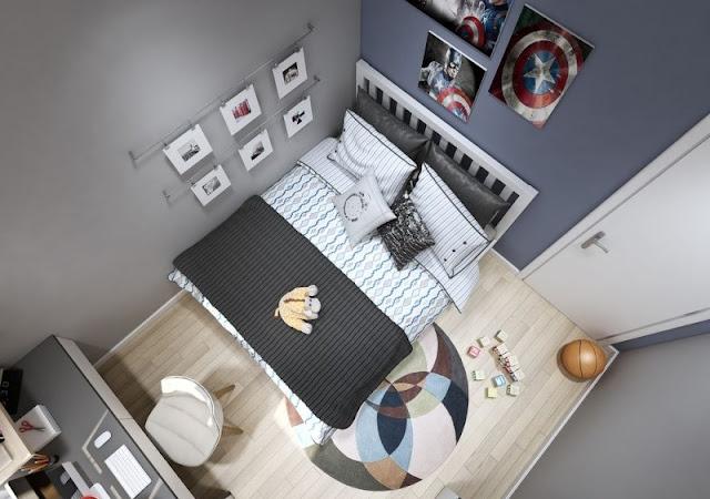 Tư vấn thiết kế căn hộ 69m2 độc đáo và ấn tượng - H5