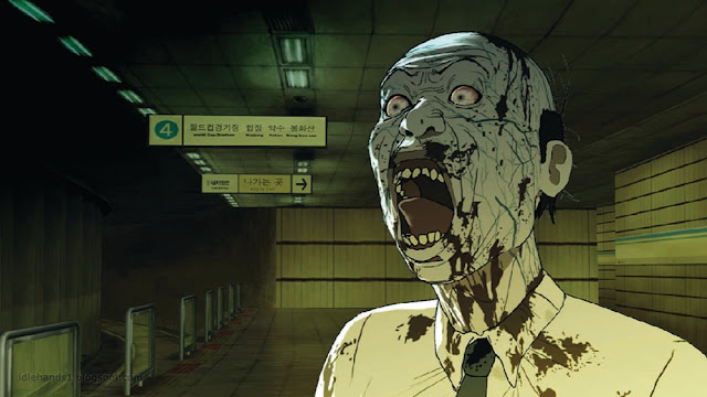 Seoul Station Animated Train to Busan Prequel