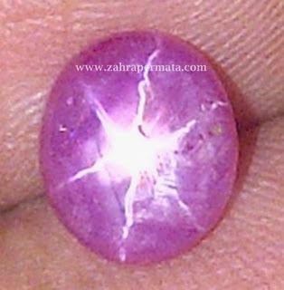 Batu Permata Ruby Star - ZP 212