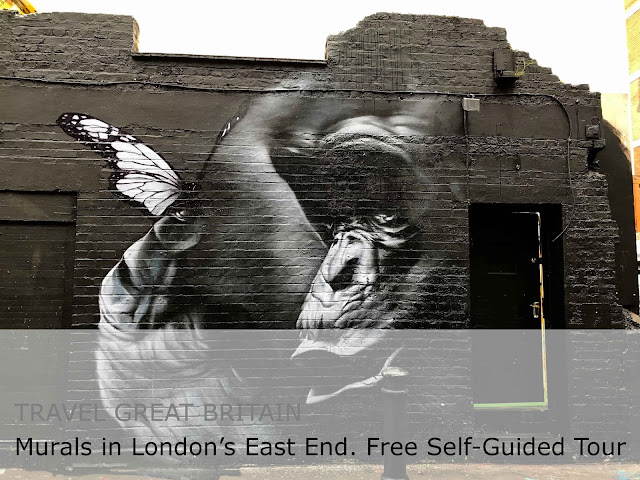 Travel Great Britain. Murals in London's East End - Free Self-Guided Tour