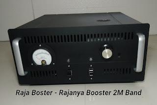 Boster 2 Meter Band 144Mhz menggunakan tabung