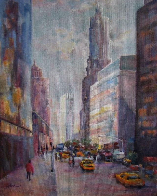Американская художница. Joan Brown
