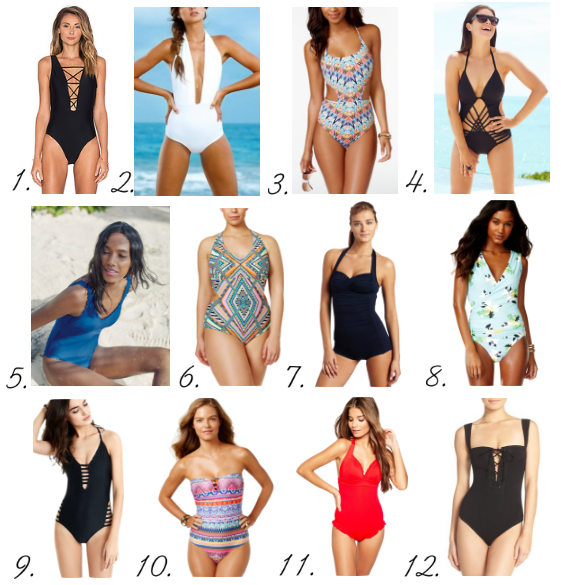 Bathing Suits and Beach Gear for Summer 2016