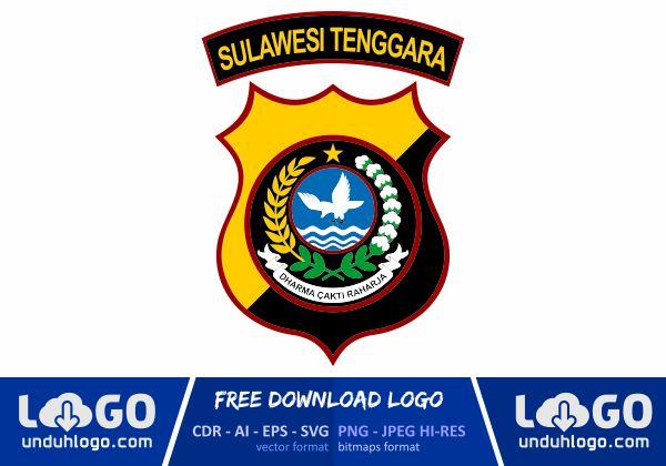 Logo Polda Sulawesi Tenggara