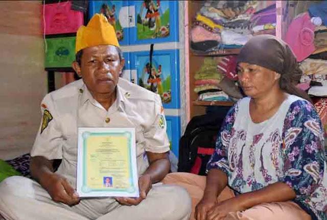 Kisah Veteran Seroja yang Menjadi Pemulung