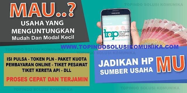 Topindo Solsui Komunika Dealer Agen Pulsa Murah dan PPOB