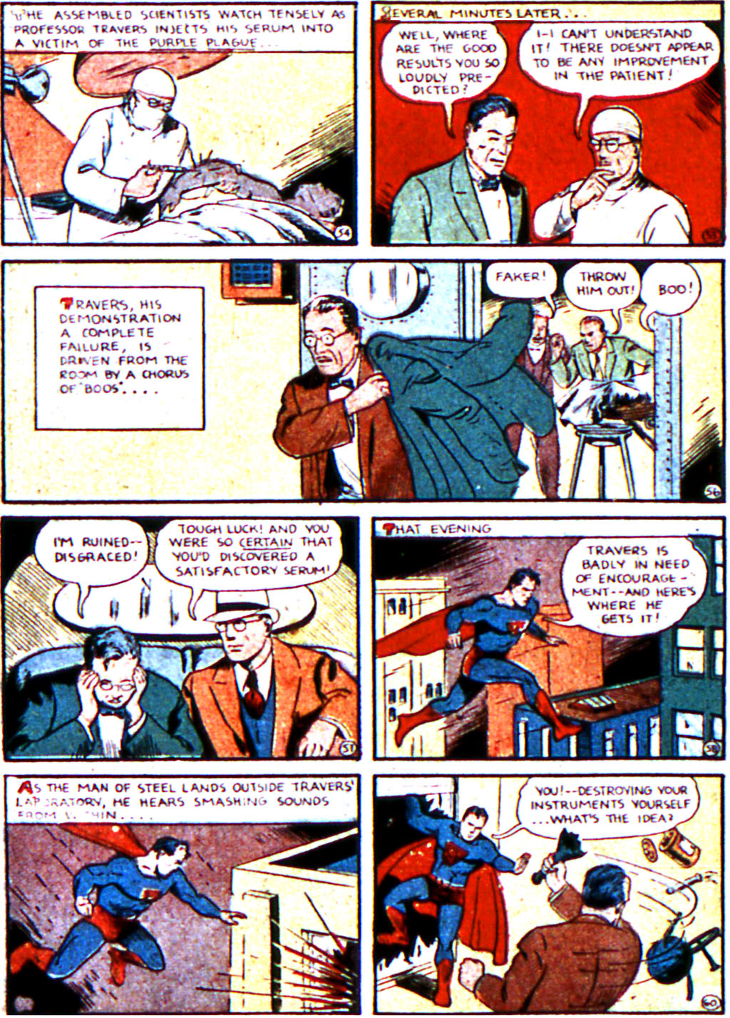 Read online Action Comics (1938) comic -  Issue #19 - 10
