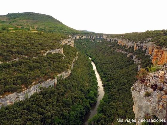 Mirador del cañón del Ebro, Merindades, Burgos