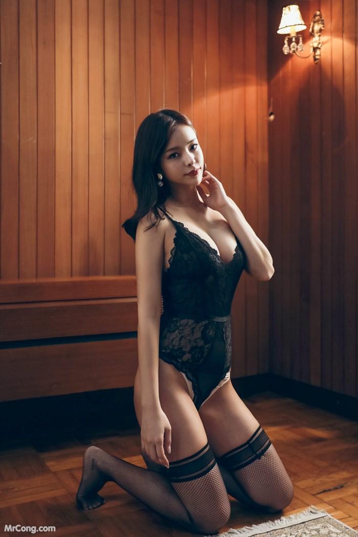 Image Korean-Model-Kwon-Soo-Jung-MrCong.com-008 in post Người đẹp Kwon Soo Jung trong bộ ảnh nội y tháng 10/2017 (195 ảnh)