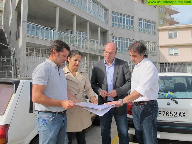 El Cabildo aporta 650.000 euros a las obras de la Residencia y Centro de Día de Mayores de San Andrés y Sauces