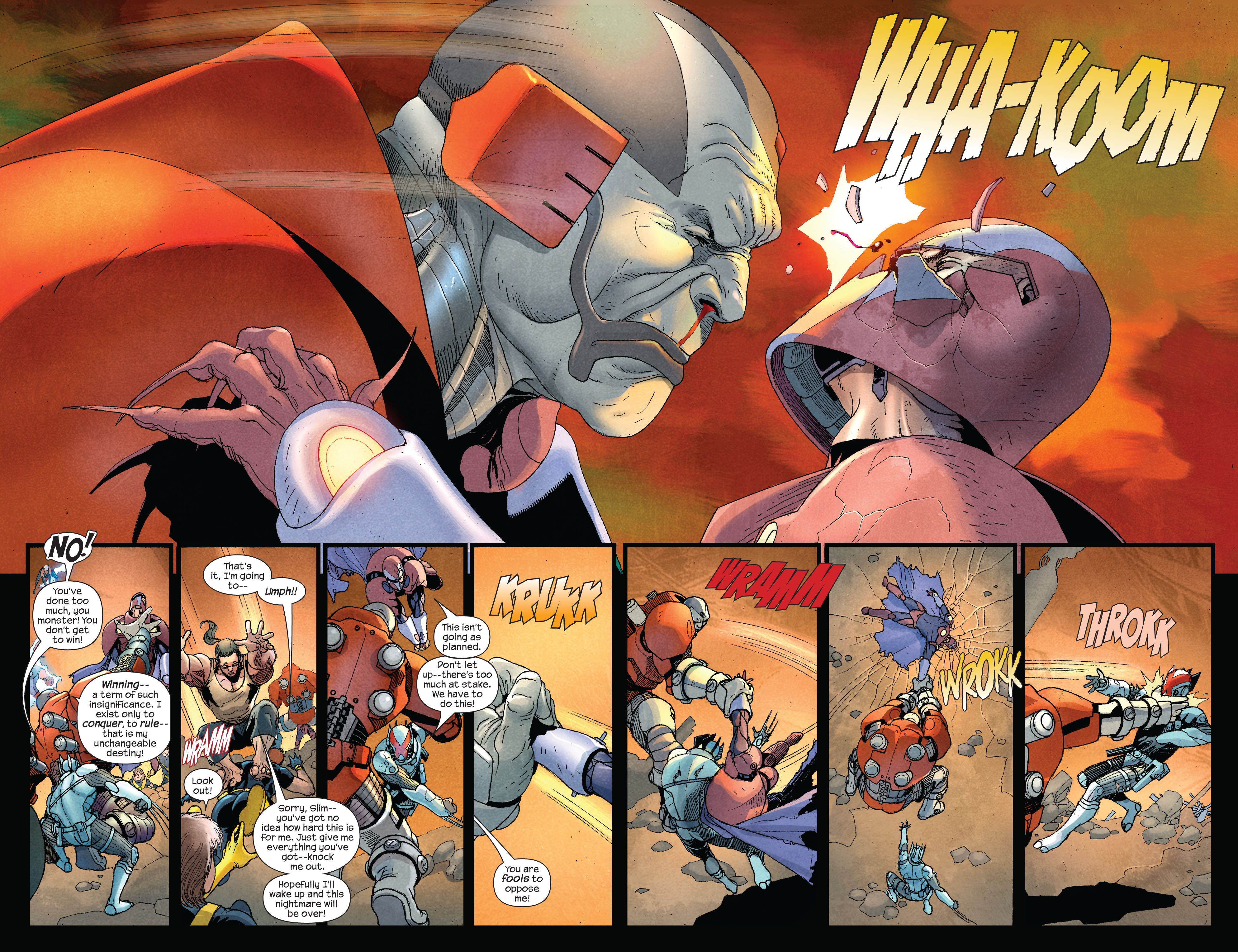 Read online Ultimate X-Men comic -  Issue #92 - 9